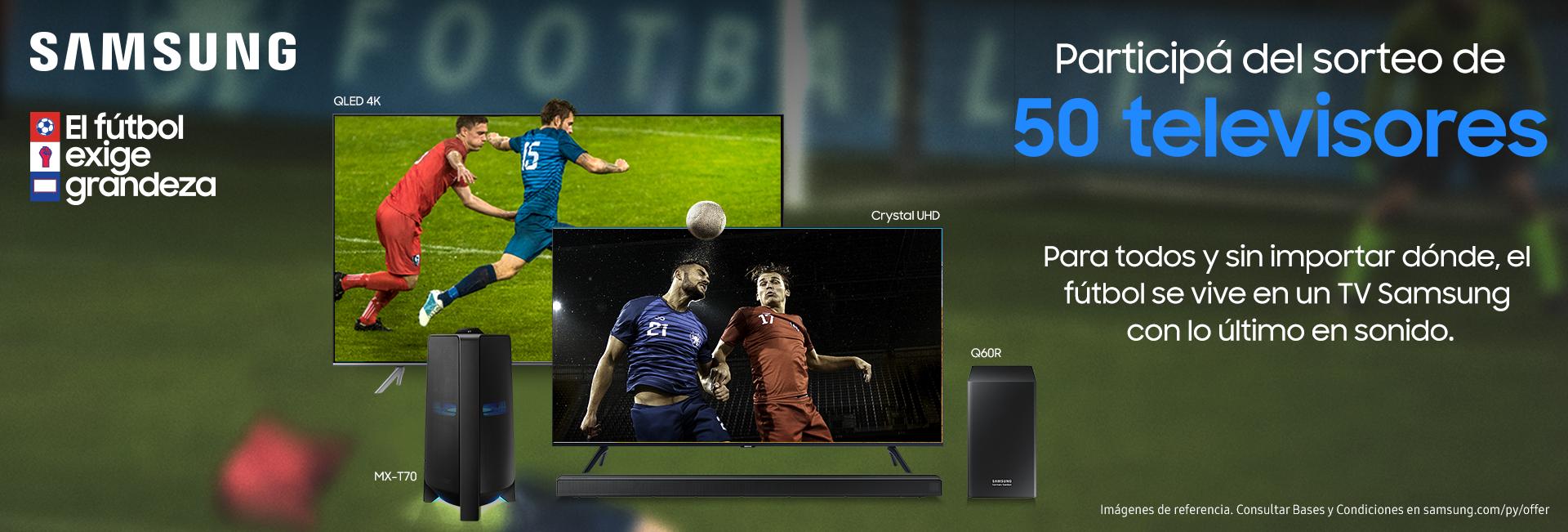 Samsung Futbol Exige Grandeza