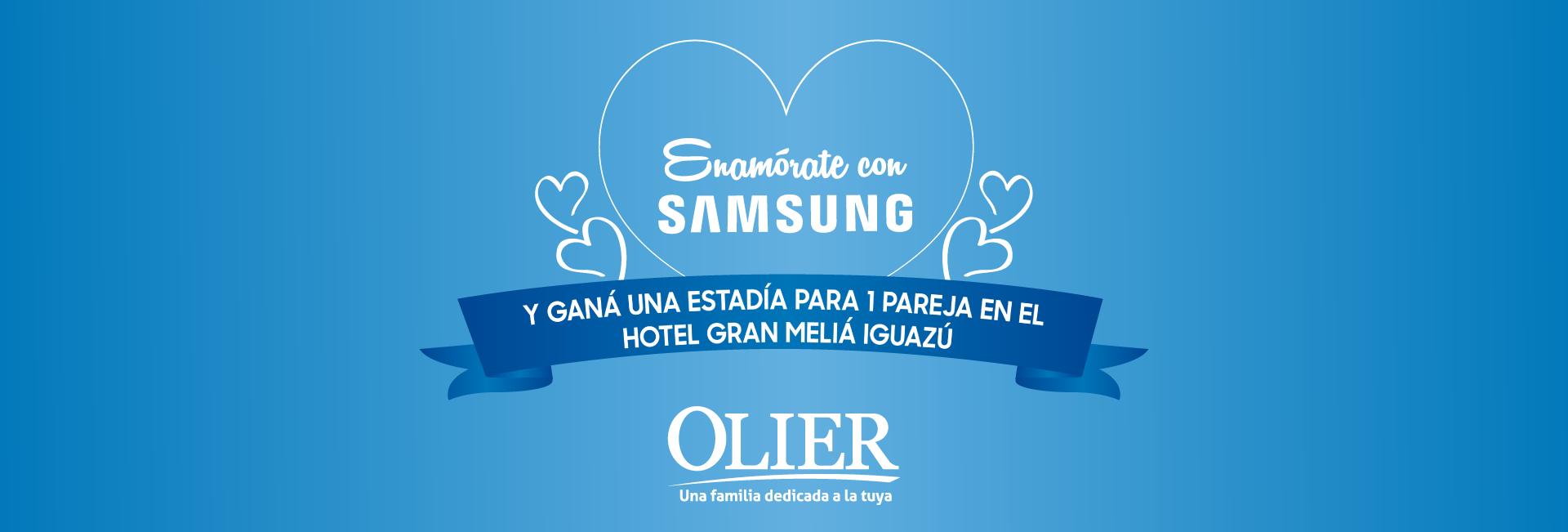 Enamorate con Samsung