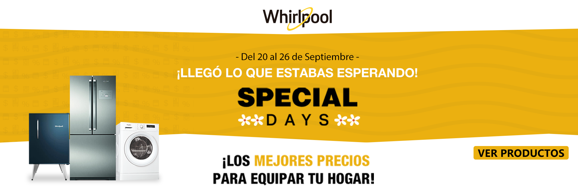 Special days Whirlpool