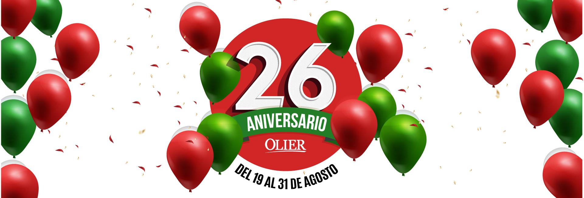 Aniversario 26